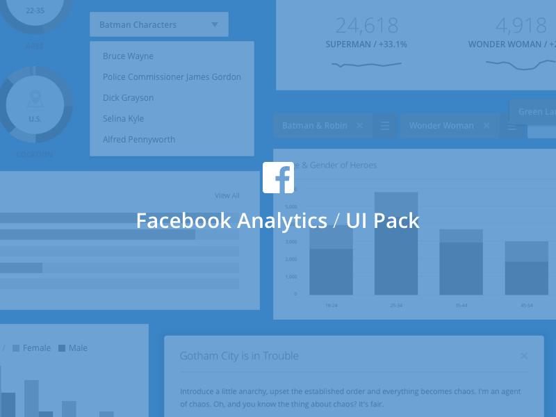 Exclusive Facebook Analytics Ui Sketch Freebie Download Free Resource For Sketch Sketch App Sources