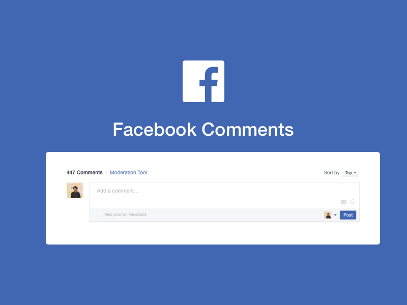 Facebook Comments Template Sketch Freebie Download Free Resource For Sketch Sketch App Sources