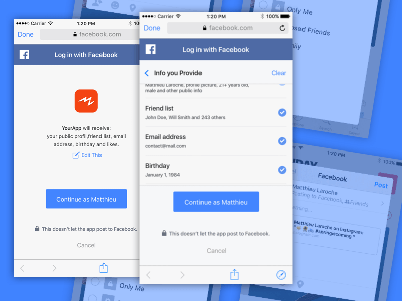 Facebook Share and Connect Sketch freebie - Download free resource
