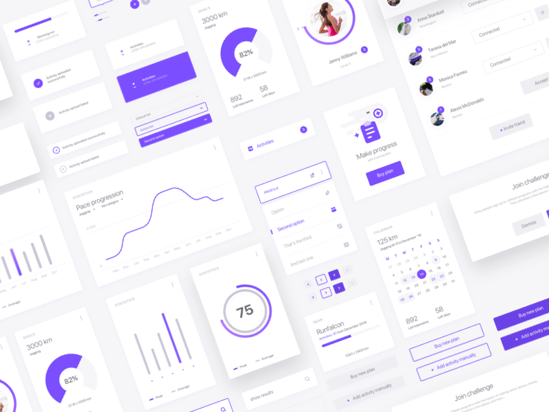 Fitness Data Dashboard