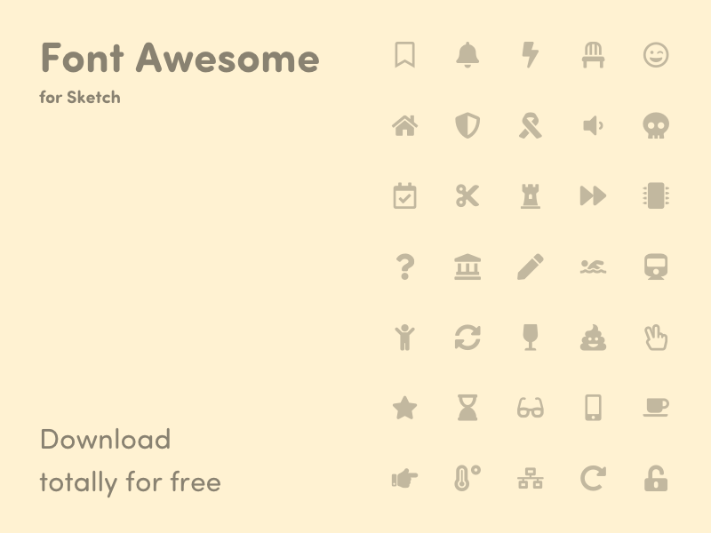 Free Icon Sets - IOS Android Line Social Flat Web Free Resources For Sketch - Sketch App ...