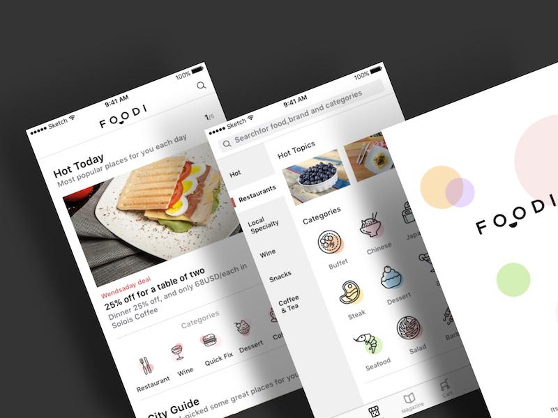 Tinder iOS UI Kit Sketch freebie - Download free resource for Sketch