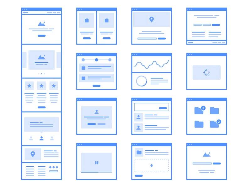 Frames 2 - Flowchart Kit Sketch freebie - Download free resource for ...