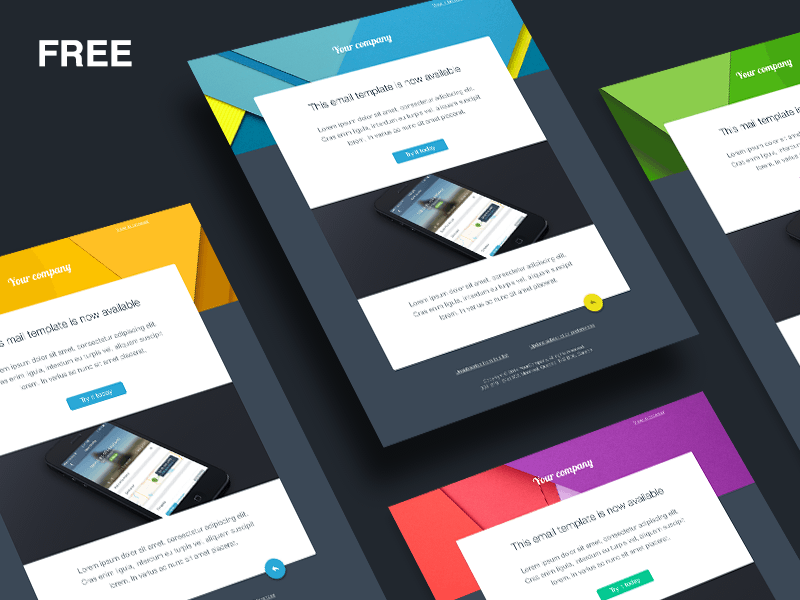 Free Email Templates Sketch freebie   Download free resource for VDFQ7oOm