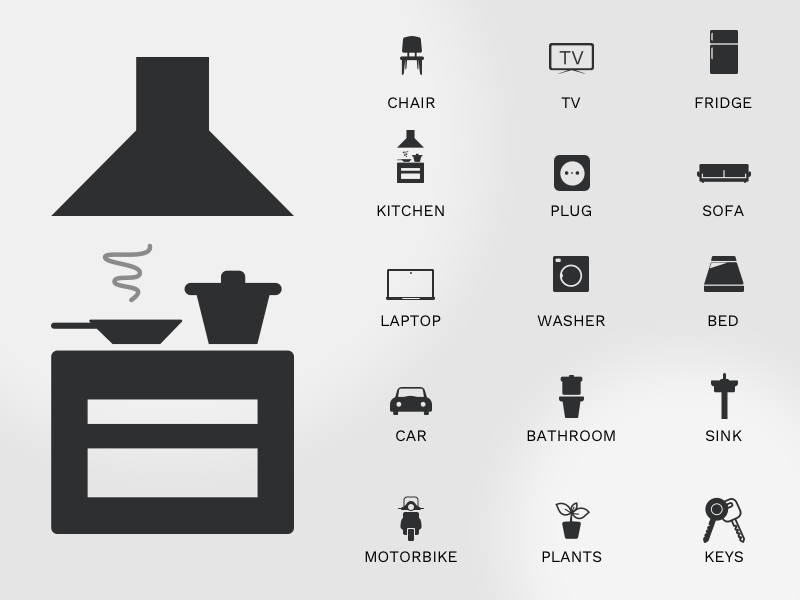 15 Home Icons