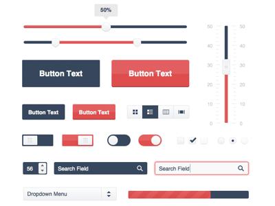 Bootstrap 4 UI Kit for Sketch Sketch freebie - Download free