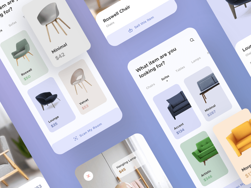 Furniture App UI Kit