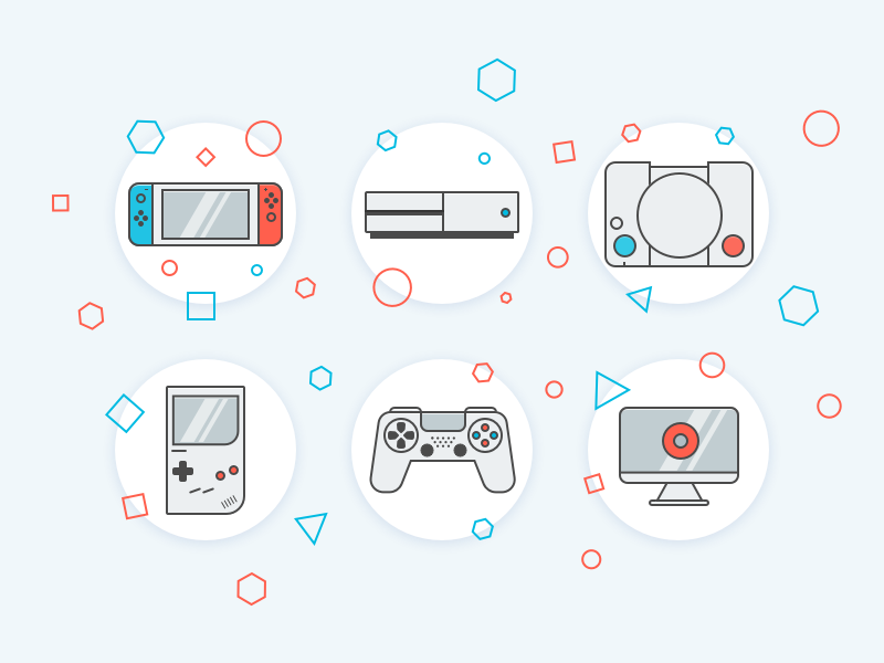 Game Console Icons
