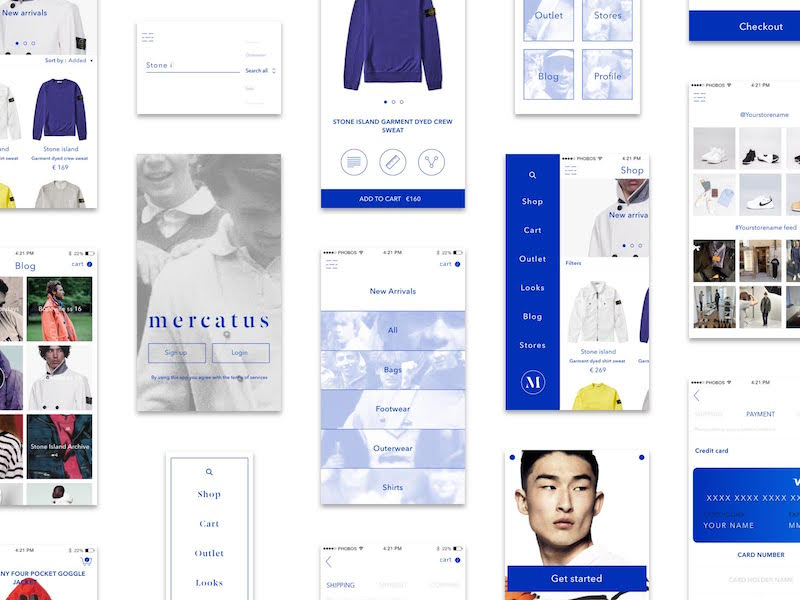 Mercatus - Mcommerce UI Kit