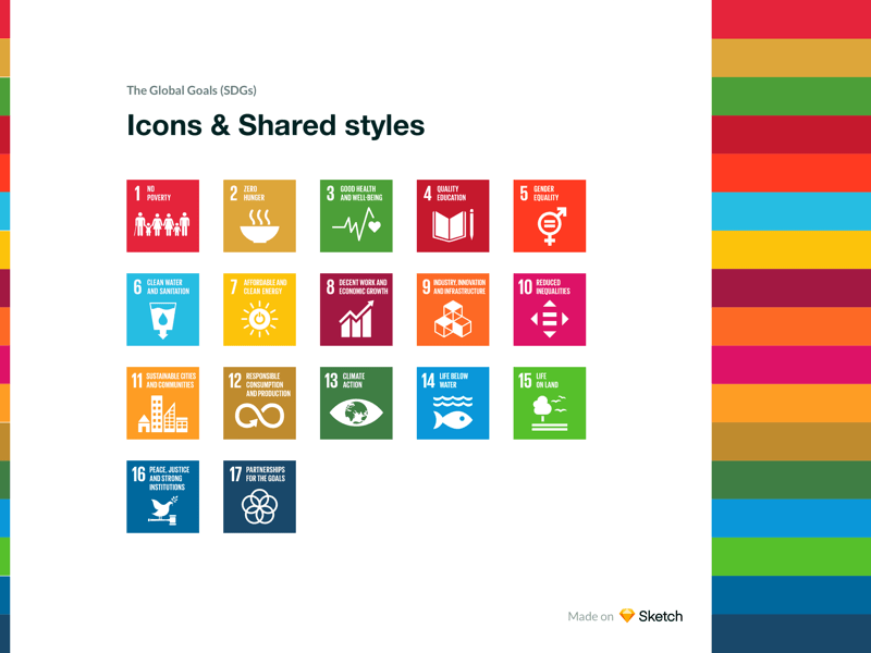 Global Goals Icons