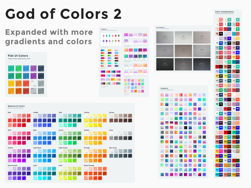 God Of Colors Sketch Freebie Download Free Resource For