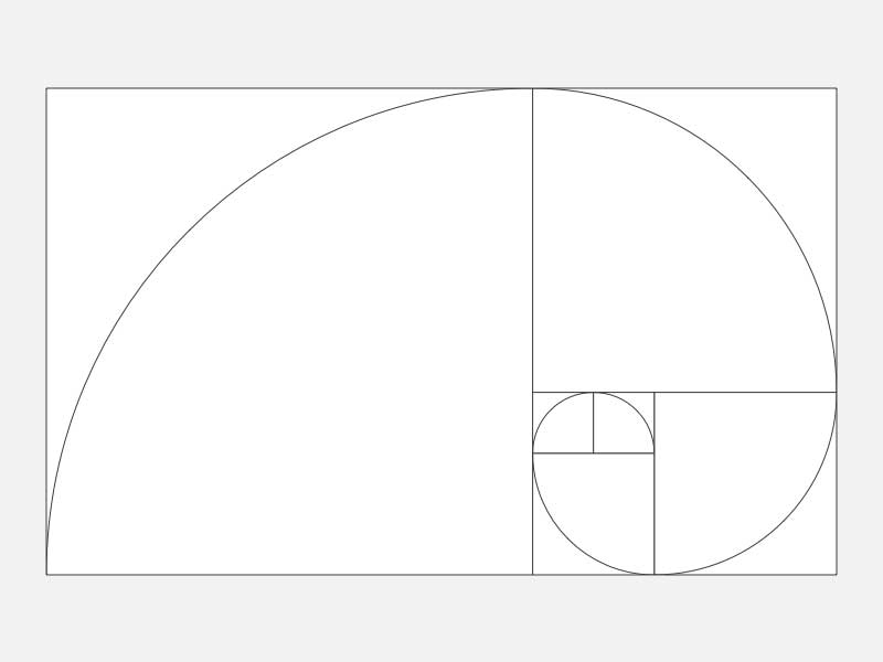 golden rectangle in art