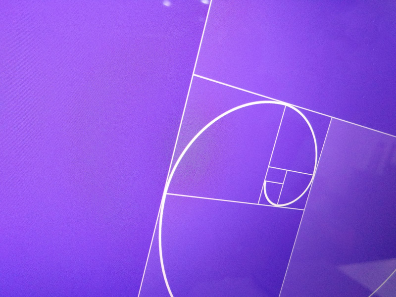 Golden Ratio Grid Template