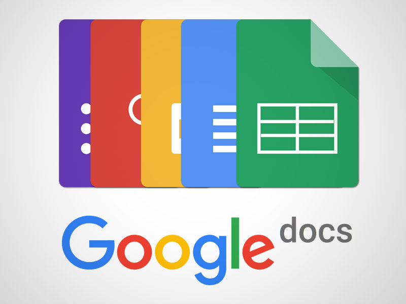 Google Docs Icons In Sketch Freebie