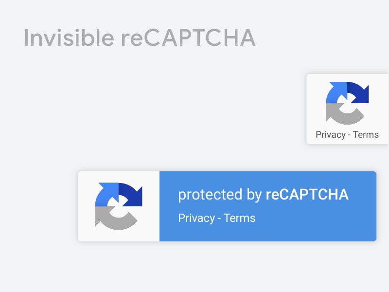 Google Invisible reCAPTCHA Library