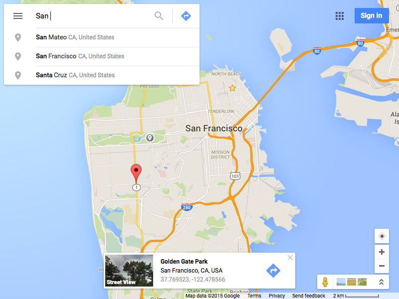 Google Maps UI Kit Sketch freebie - Download free resource for ... on