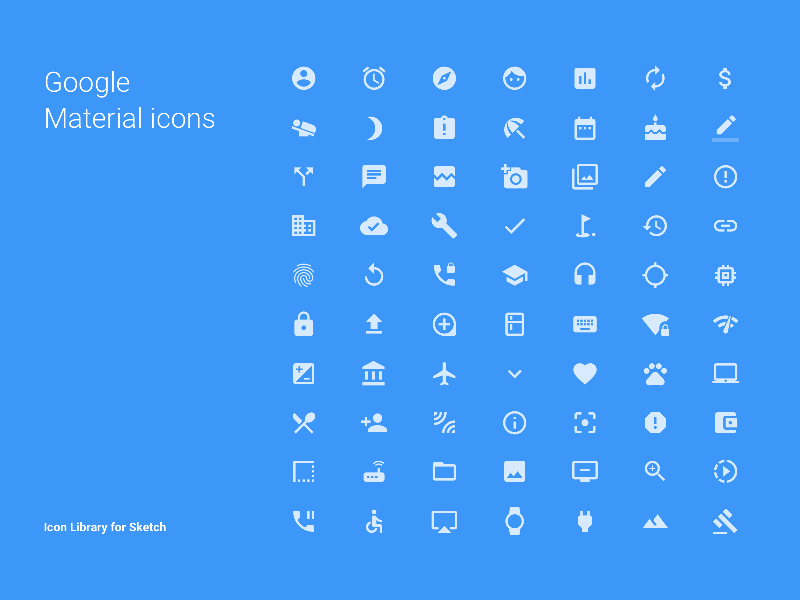 Android Material Design App Templates free resources for Sketch