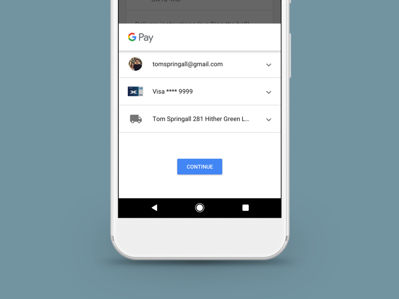Google Pay Sketch freebie - Download free resource for Sketch
