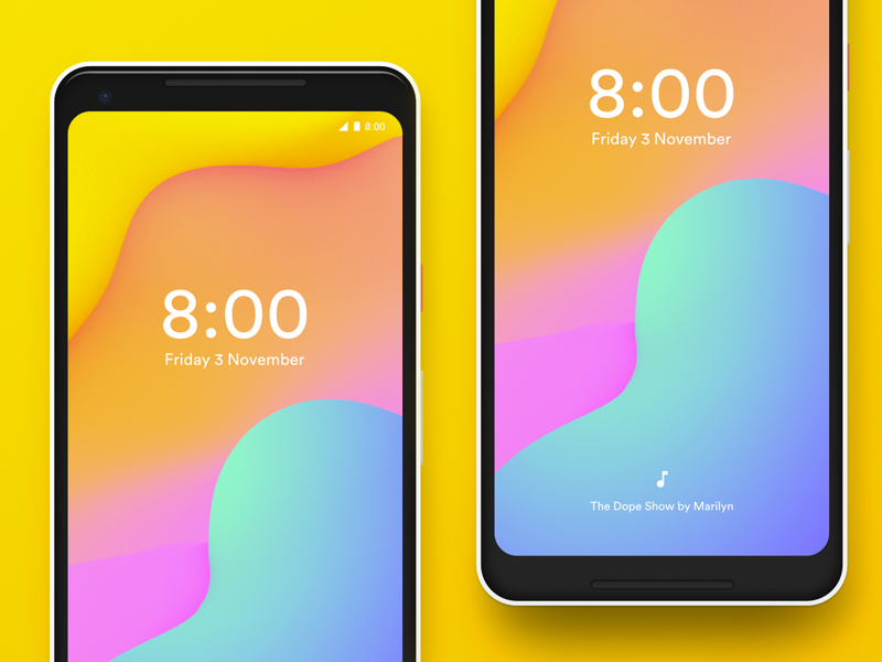 google pixel 2 - Mockups For Android
