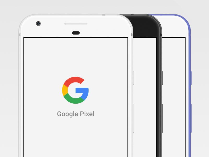 Google Pixel Mockup Sketch freebie - Download free resource