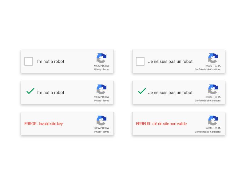 Google reCAPTCHA Sketch freebie - Download free resource for Sketch