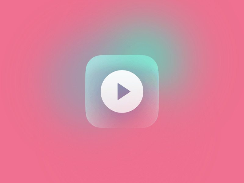 Gradient icon template