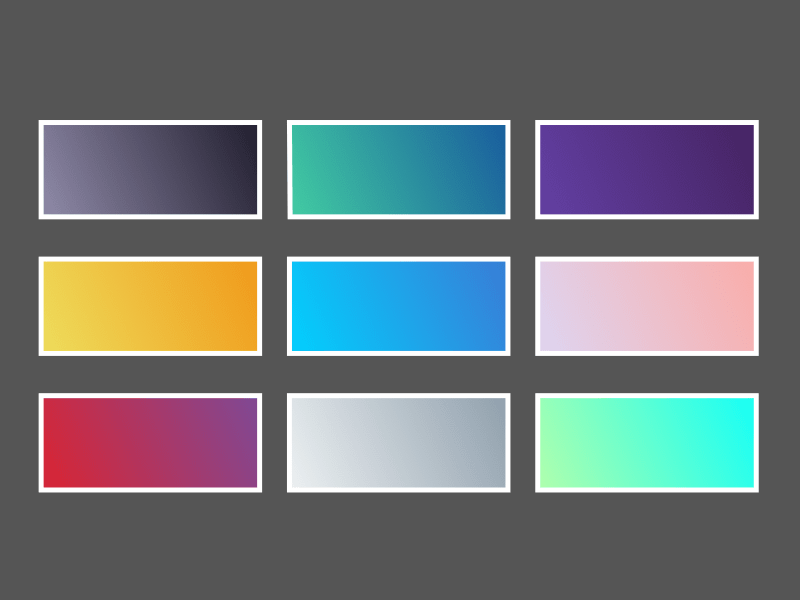 9 Gradients for Sketch