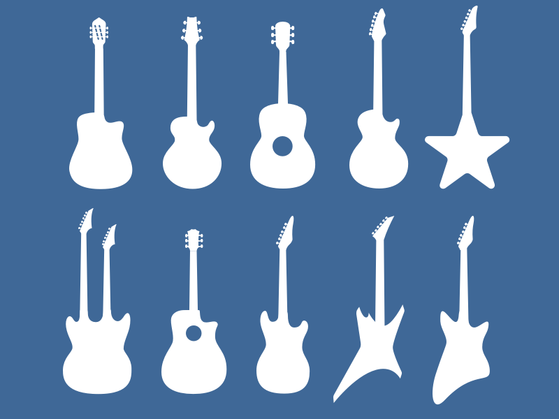 Guitar Shapes