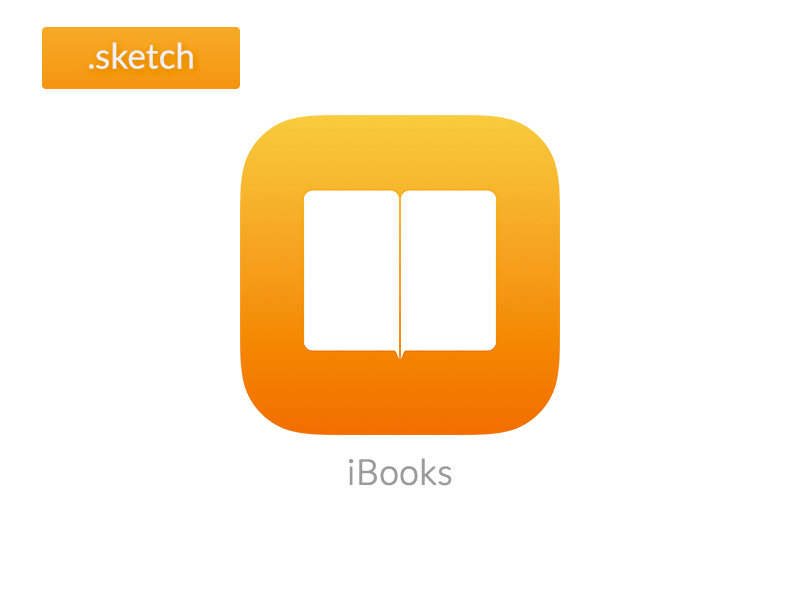 iBooks iOS icon