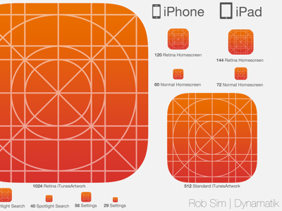 iOS 7 Icon Kit V3