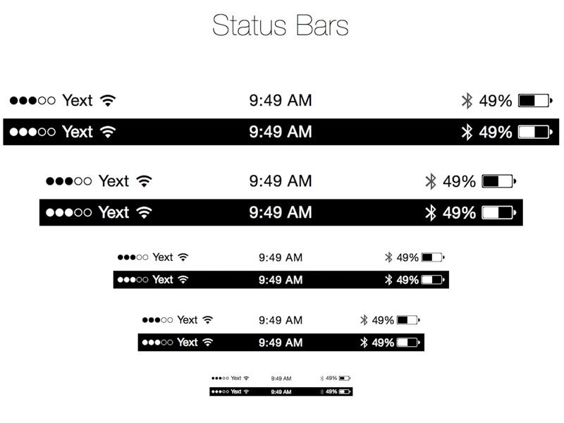 Apple iOS 7 Icons: Natives and Basics Sketch freebie ...