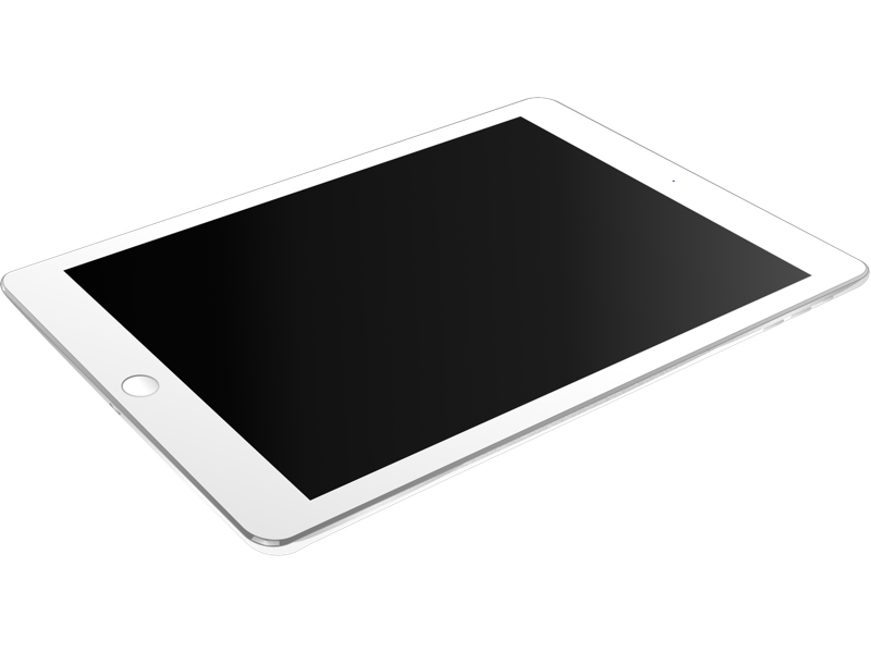 White iPad Air
