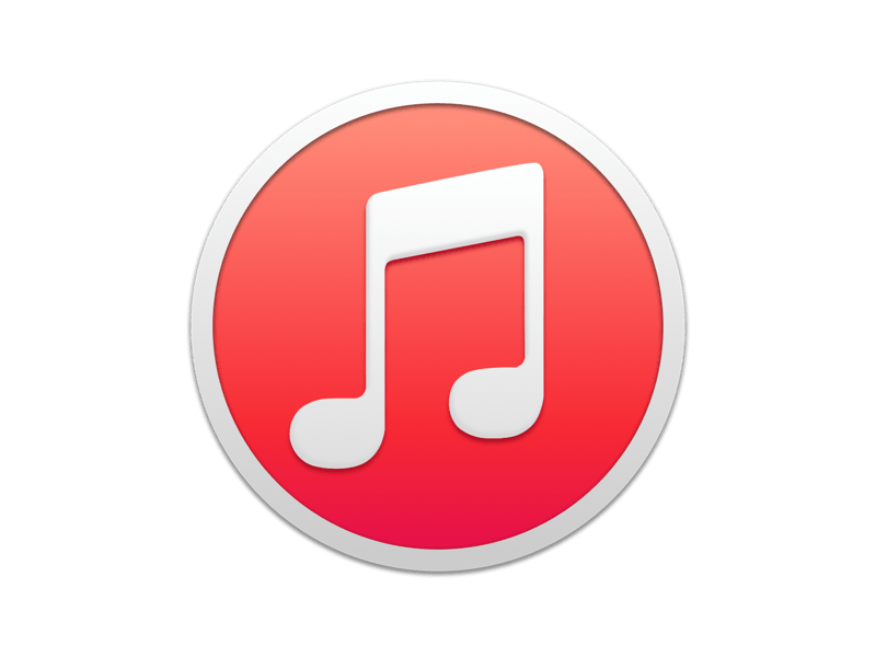iTunes Yosemite Mac Icon