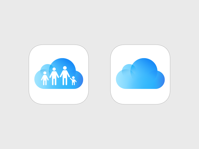 iCloud Drive and Family Sharing
