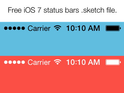 ios-7-status-bars Template App Android Free on downloads tablet kimbel, digital level,