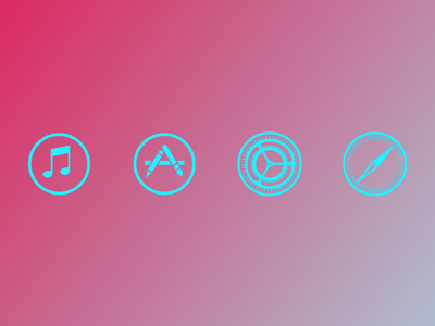 iOS 7 Vector App Icons Vol 2
