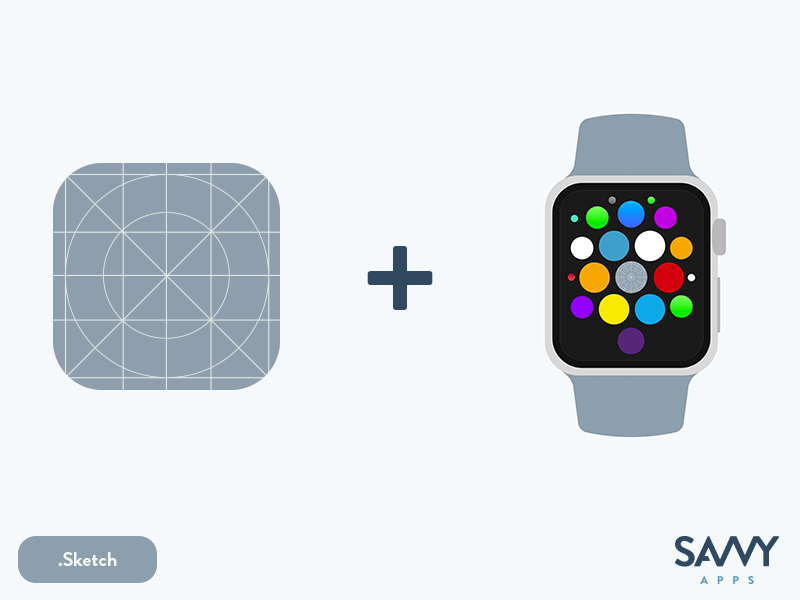 iOS and WatchOS App Icon Template