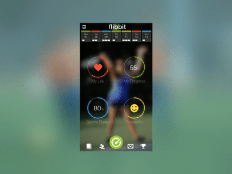 iOS Sports Dashboard