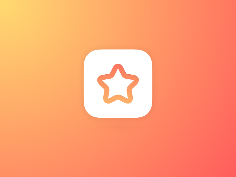 iOS Star Icon