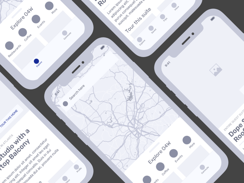 iOS Wireframe Kit