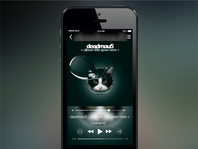 iOS Music Player
