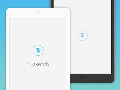 Iphone ipad android app and splash templates sketch freebie.