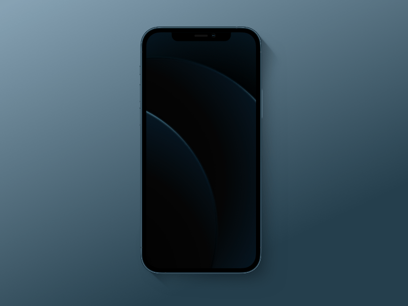 iPhone 12 Simple Mockup