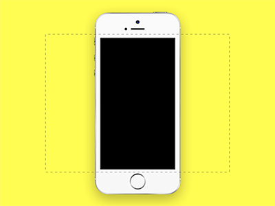 iPhone 5S for Dribbble