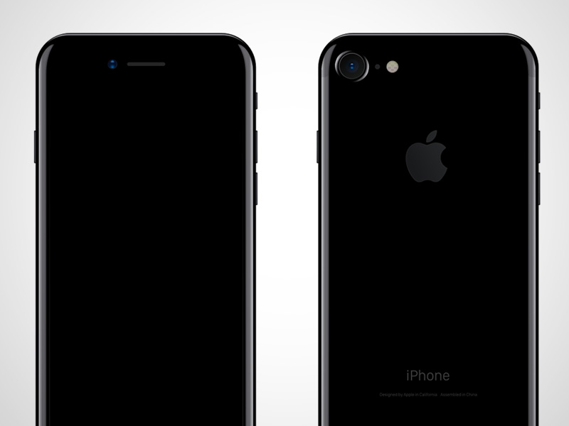 iPhone 7 Back and Front Mockup