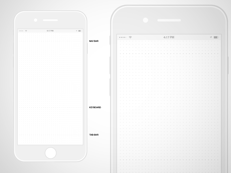 Iphone Templates | Iphone Ui Kit Iphone 6 Gui 6 Plus Mockup Templates Free Resources