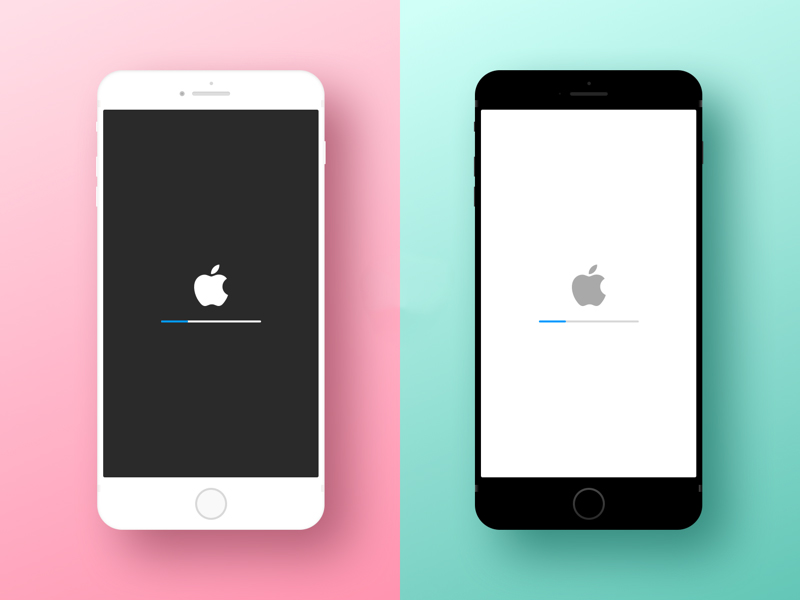 minimal iphone device mockup - Mockups For Android