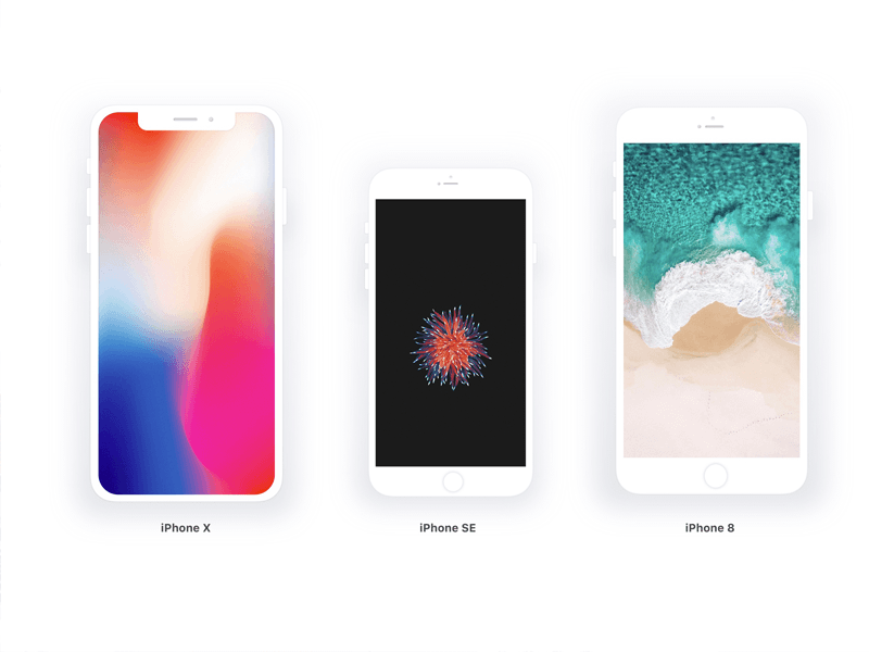 Device Mockups Apple iPhone Samsung Galaxy Android