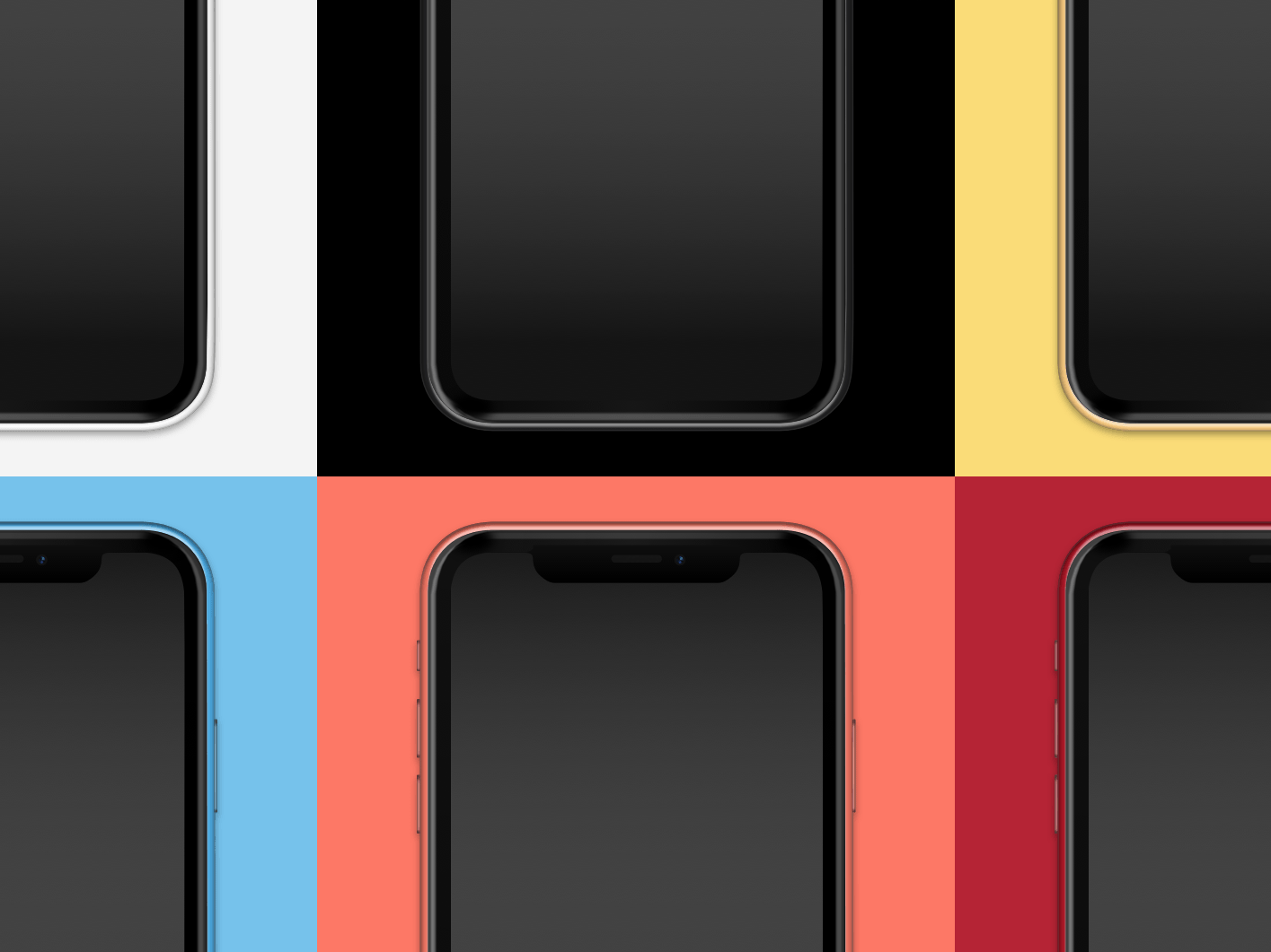 iPhone XR Mockups