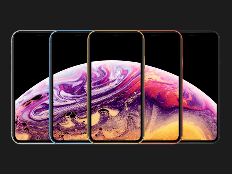 iPhone XS Max XR Mockups